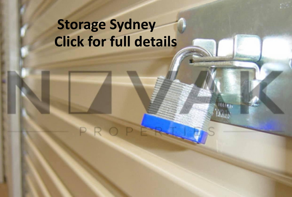 Self storage sydney, safe secure 24 hour access